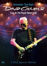 david gilmour DVD remember that night